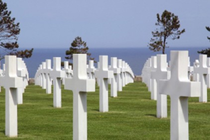 Visit Normandy cemetery